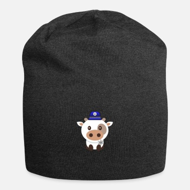 Sheriff Police Cow Sheriff Cow Police Animals Cops - Beanie