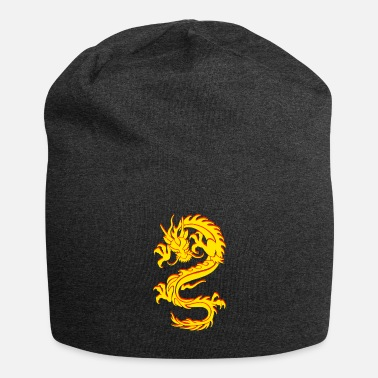 Chinese Dragon Dragon Tribal Tattoo - Beanie