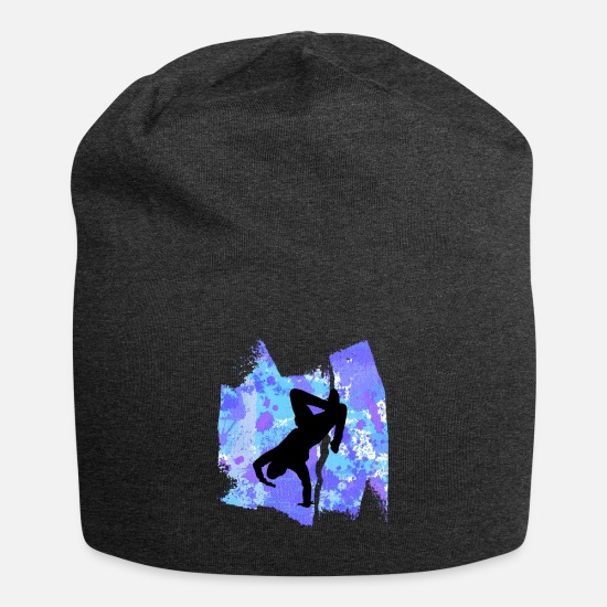 Street Dance Caps & Hats - Breakdancer Breakdance Dancing T Shirt - Beanie charcoal grey