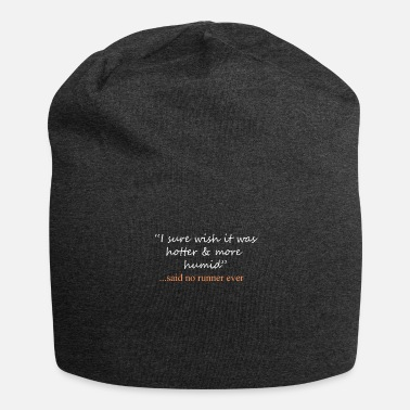 Christian Funny Said No Runner ever Running Design - Beanie