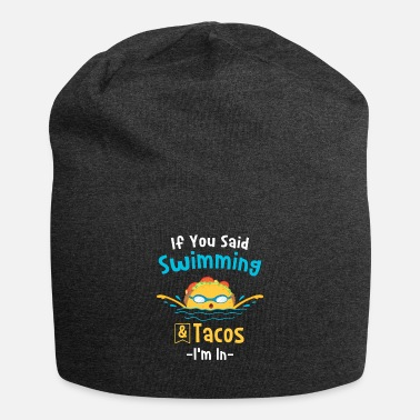 Regalo per nuotatore stile libero Swim and Tacos - Berretto
