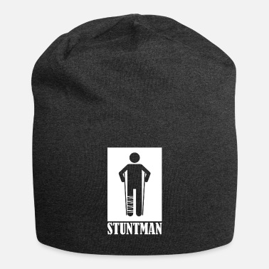 Foot Stuntman Broken Foot Plaster Gift T-Shirt - Beanie