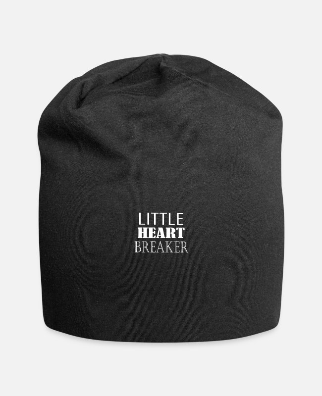 Heart Caps & Hats - LITTLE HEART BREAKER - Beanie black