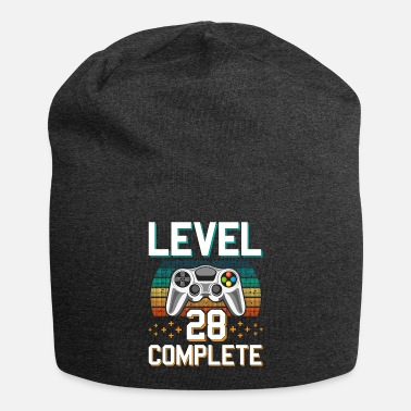 Pc Level 28 Complete 28 Years of Gamer Gamer - Beanie