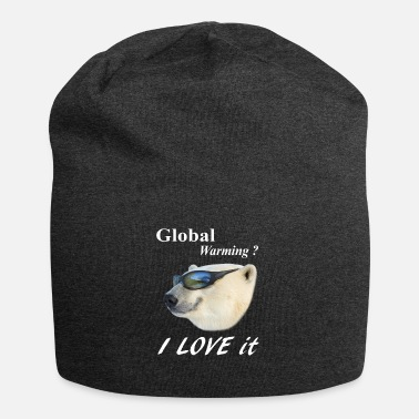 Global Global Warming Eis Bear Polar globale erwarmung - Beanie