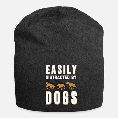 Dog - dog - distracted by dogs - shirt - Beanie