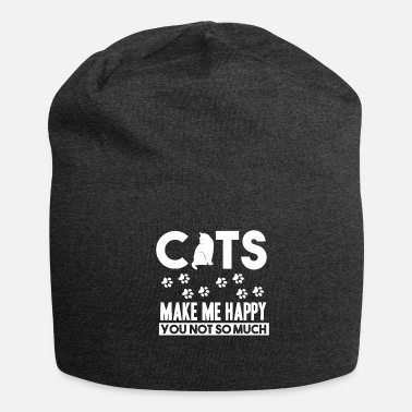 Cats - cats make me happy - shirt - Beanie