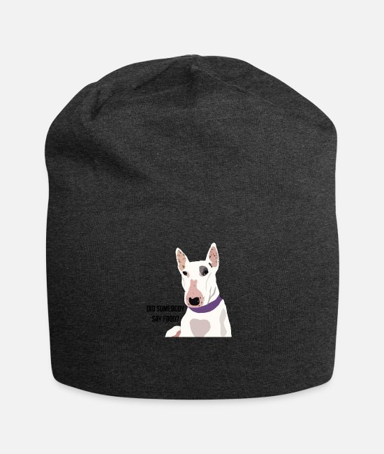 Wild Caps & Hats - Dog Humour - Beanie charcoal grey