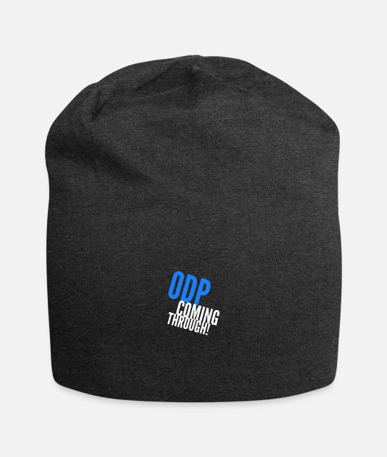 Operating Department Practice Caps & Hats - ODP coming through 2 - Beanie charcoal grey