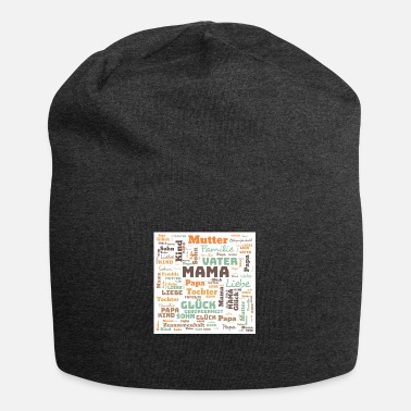 Wordcloud Wordcloud Familie - Beanie