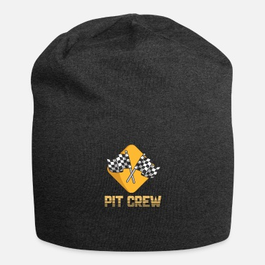 Kilpaauto PIT CREW SHIRT GIFT IDEA DRIVERS RACE: lle - Beanie-pipo