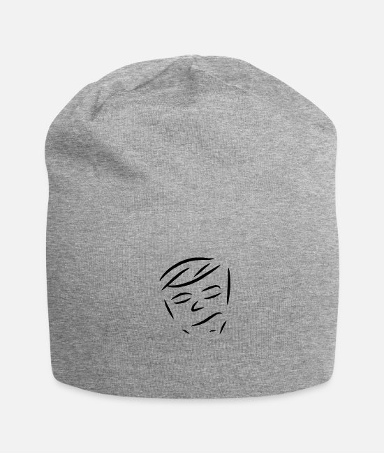 Fashion Caps & Hats - face - Beanie heather grey