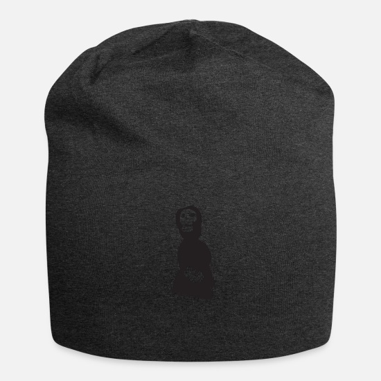 Skeleton Caps & Hats - Reaper - Beanie charcoal grey