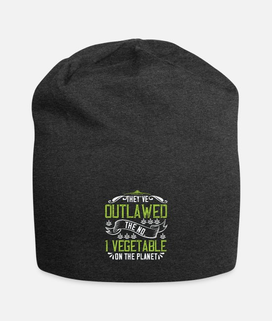 Rauchen Caps & Mützen - They ve outlawed the No 1 vegetable on the planet - Beanie Anthrazit