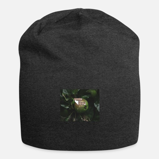 Apple Caps & Hats - Drip apple - Beanie charcoal grey
