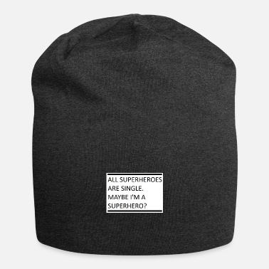 Superheld single - Beanie
