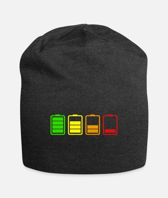 Gay Pride Caps & Mützen - Batterie - Beanie Anthrazit