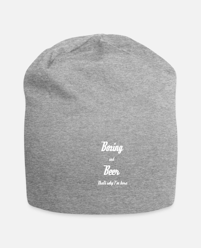 Fighter Caps & Hats - boxer - Beanie heather grey