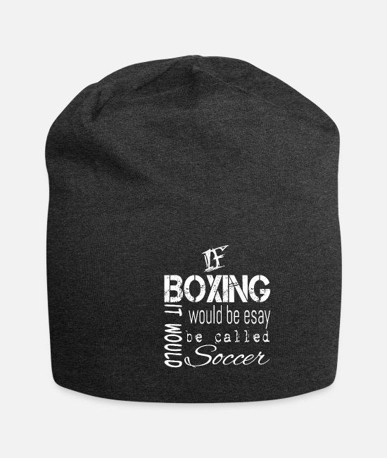 Fighter Caps & Hats - boxer - Beanie charcoal grey