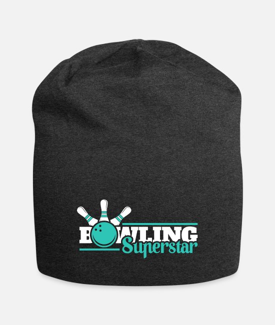 Ball Caps & Hats - Bowling Superstar - Beanie charcoal grey