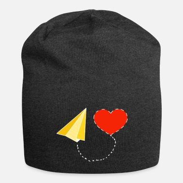 Letter with heart - Beanie