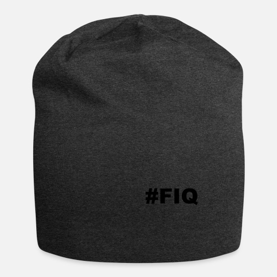 Sort Kasketter & huer - fiq sort - Beanie charcoal