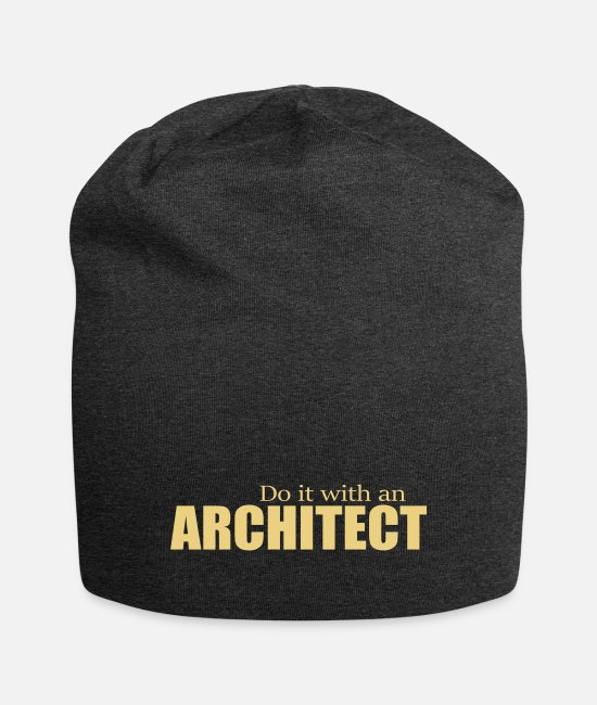Building Caps & Hats - ARCHITECT - Beanie charcoal grey