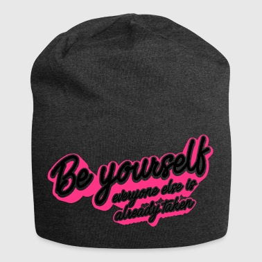 Be Yourself - Jersey Beanie