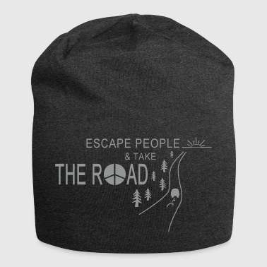 TAKE THE ROAD - Jersey Beanie