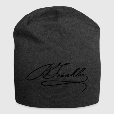 Autograph of Benjamin Franklin - Jersey Beanie