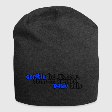 Genitive into the water (blue) - Jersey Beanie