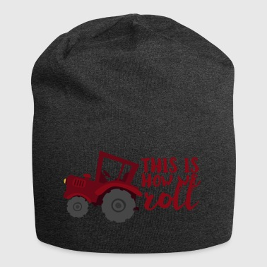 Farmer / Landwirt / Bauer: This is how we roll - Jersey-Beanie