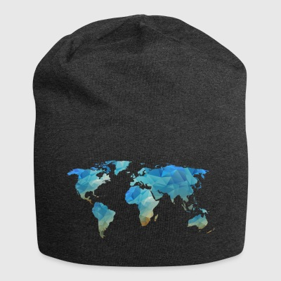 map transparent - Jersey Beanie
