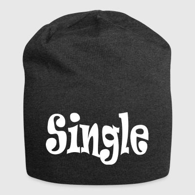 Single White - Jersey Beanie