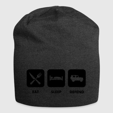 Eat, Sleep & Defend - Bonnet en jersey