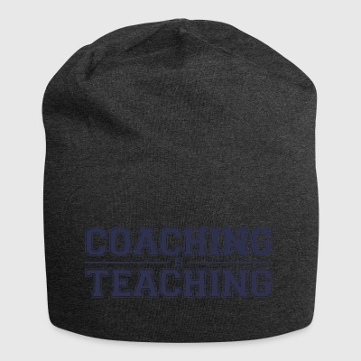 Coach / Trainer: Coaching Is Teaching - Jersey Beanie