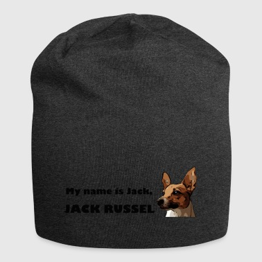 my name is jack Russell - Jersey-Beanie