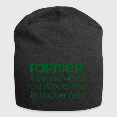 Farmer / Landwirt / Bauer: A person who is outstan - Jersey-Beanie