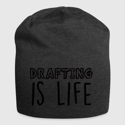 Architect / Architecture: Drafting Is Life - Jersey Beanie