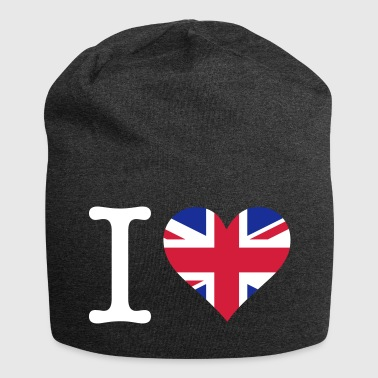 I Love The United Kingdom - Jersey Beanie