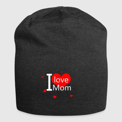 I love you mom - Bonnet en jersey