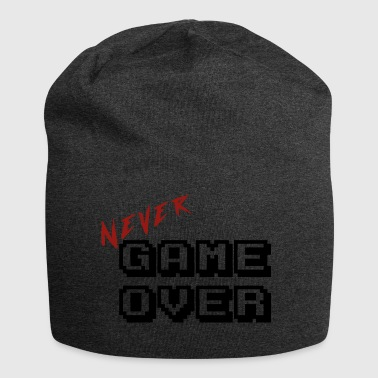 Never game over transparent - Jersey Beanie