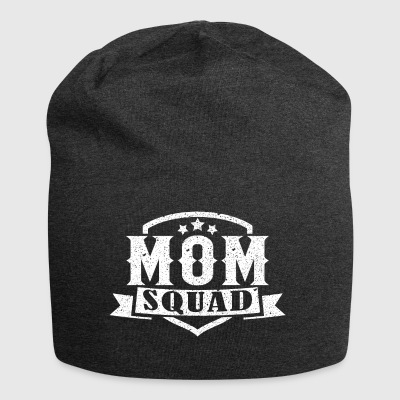 MOM SQUAD - Beanie in jersey