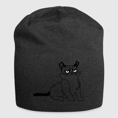 Grumpy Kitty - Bonnet en jersey