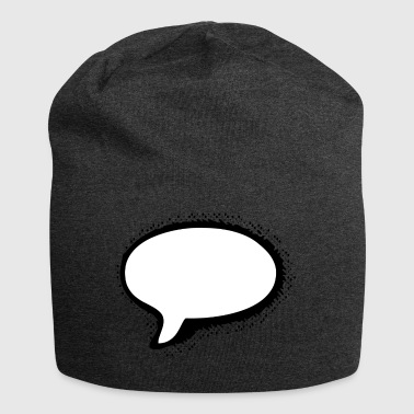 speech Bubble - Jersey-Beanie