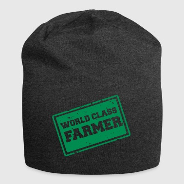 Farmer / Landwirt / Bauer: World Class Farmer - Jersey-Beanie