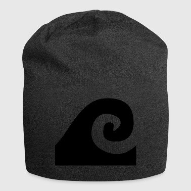 The Black Wave - Jersey Beanie