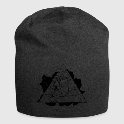 Triangle Rose - Jersey Beanie
