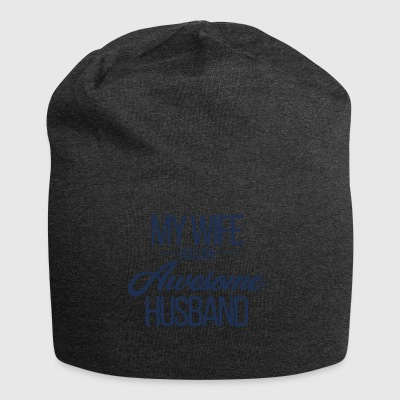 Wedding / Marriage: My Wife has an awesome Husband - Jersey Beanie