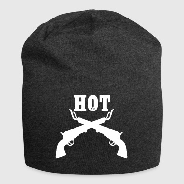 hotx2 wite - Jersey-Beanie